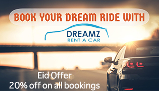 dreamz rent a car) with look at me UAE Business